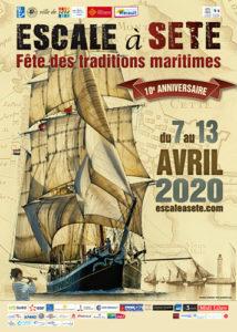 affiche Escale à Sète 2020
